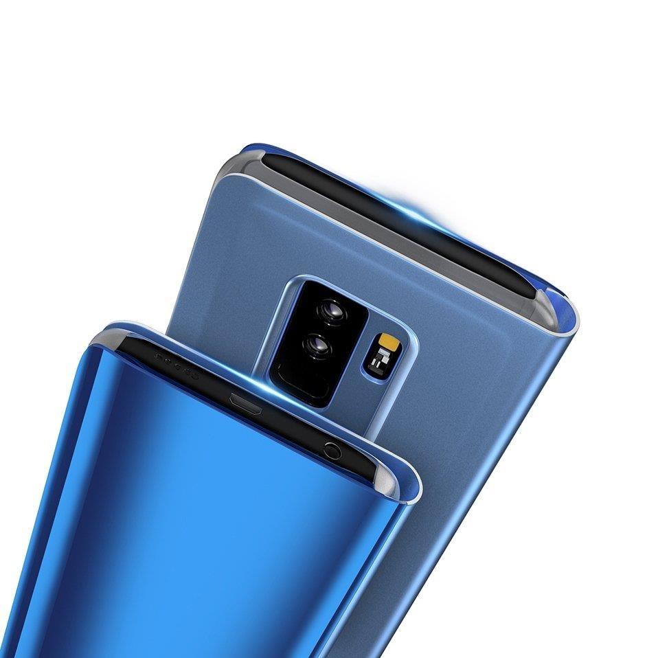 Knížkové pouzdro pro Samsung Galaxy S10e black s průhlednou přední stranou