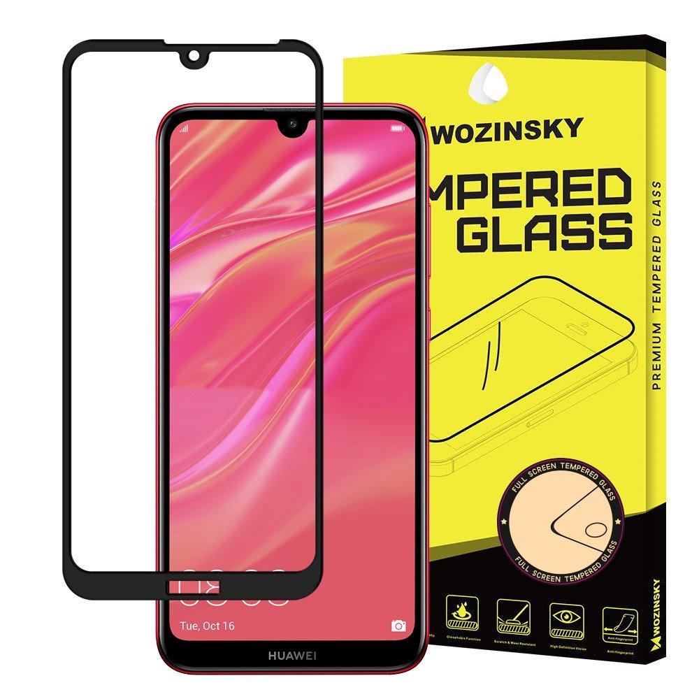 Wozinsky celoplošné temperované tvrzené sklo Huawei Y5 2019 / Honor 8S black