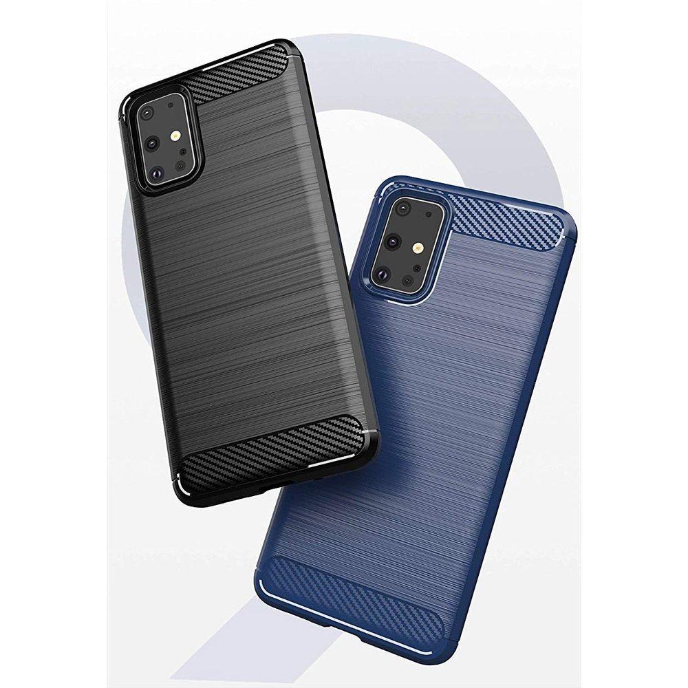 Carbon silikónové puzdro na Samsung Galaxy S20 Ultra black