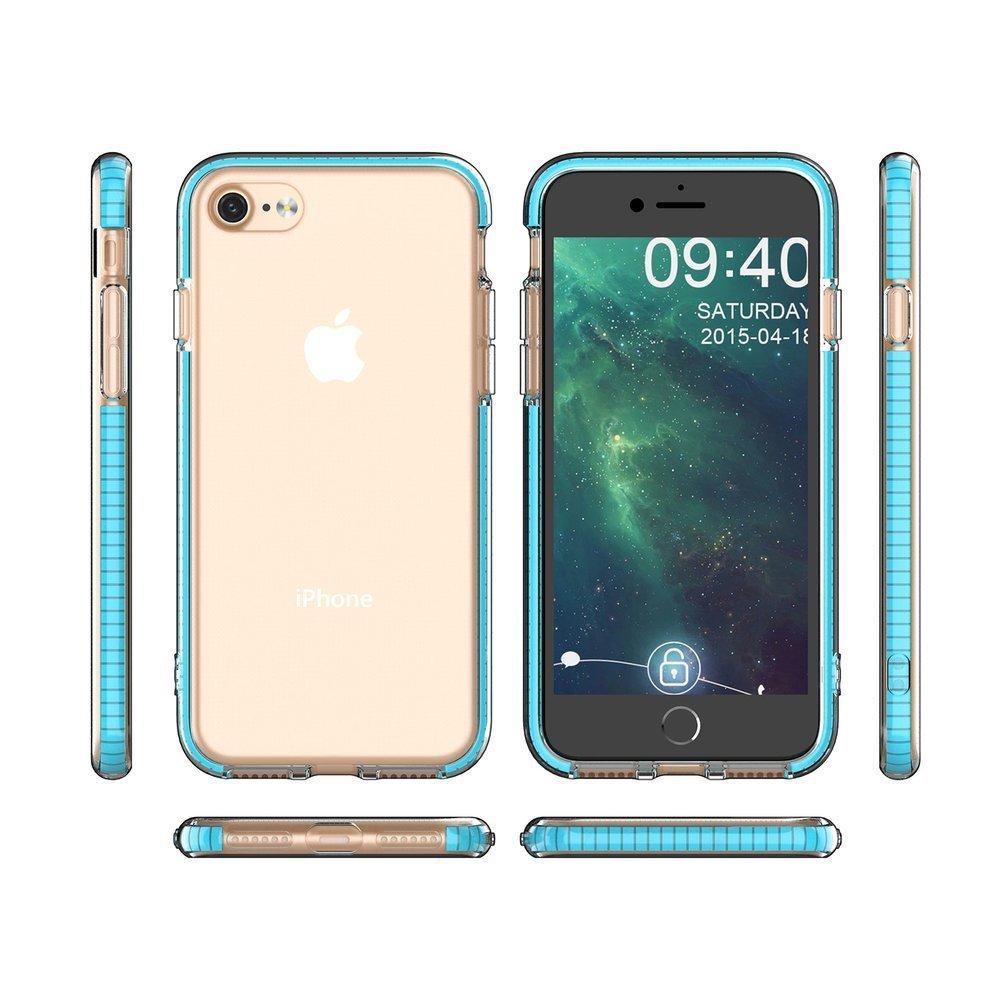 Spring silikonové pouzdro na iPhone SE 2020 / iPhone 8 / iPhone 7 black