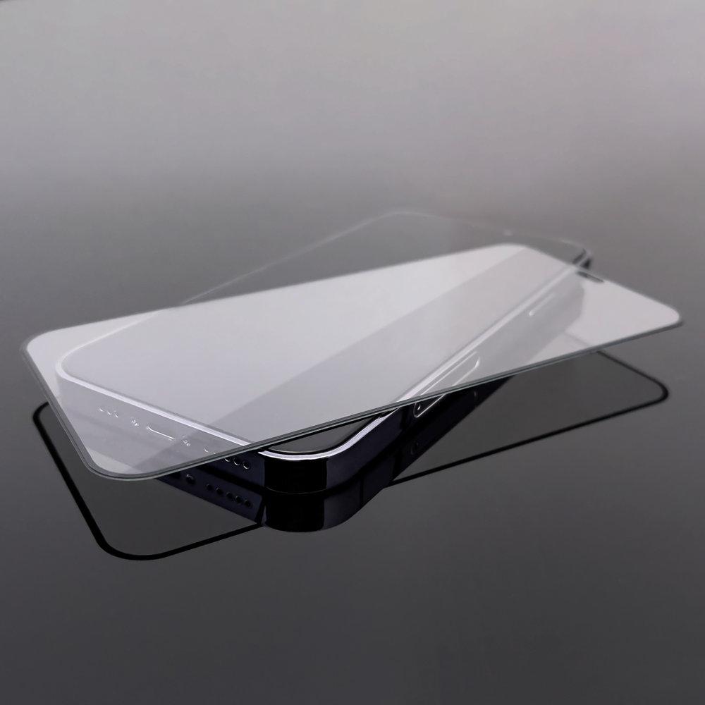 Celoplošné temperované tvrzené sklo pre Huawei P40 Lite / Nova 7i / Nova 6 SE black
