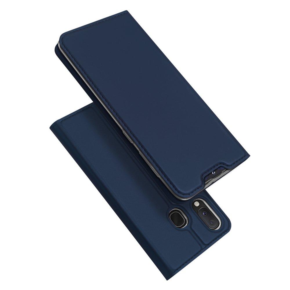 DUX DUCIS Skin knížkové pouzdro na Samsung Galaxy A40 blue