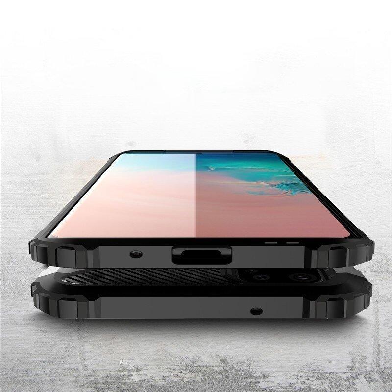 Hybrid pancéřové polykarbonátové pouzdro na Samsung Galaxy S20 Plus blue