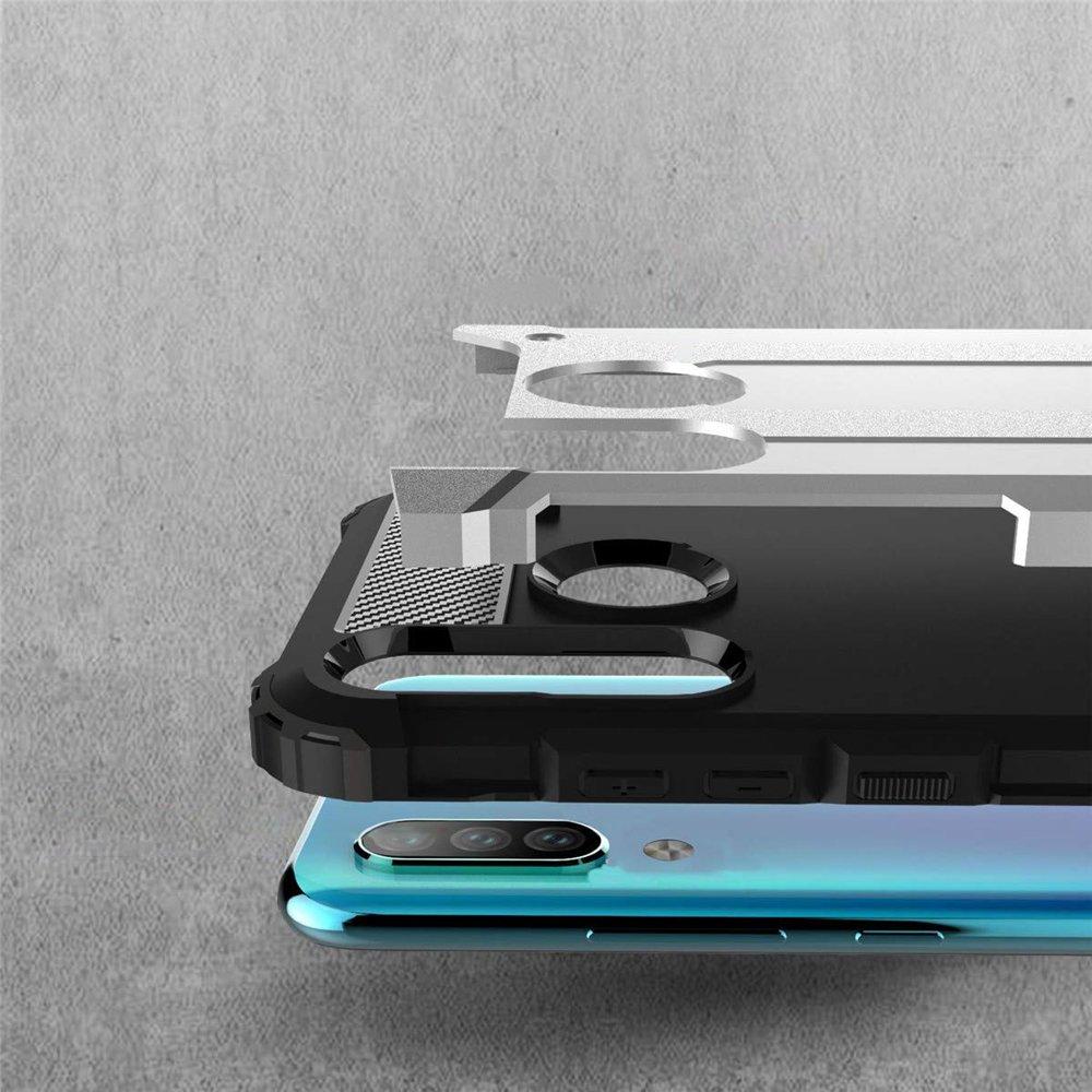 Hybrid polykarbonátové pouzdro Huawei P30 Lite silver