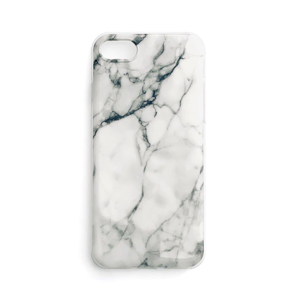 Wozinsky Marble silikonové pouzdro pro Xiaomi Redmi Note 7 white