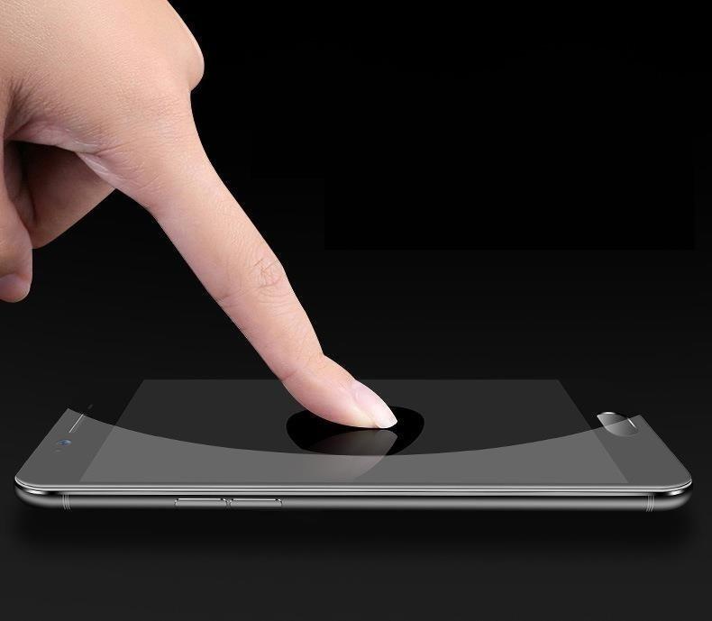 Celoplošné temperované tvrzené sklo 9H pro Xiaomi Redmi 8A / Redmi 8 black