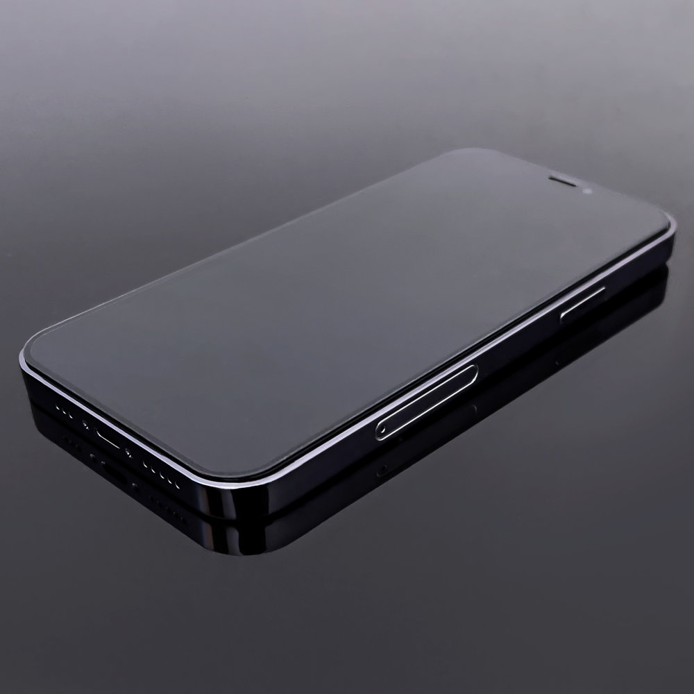 Celoplošné temperované tvrzené sklo 9H Xiaomi Redmi Note 8 Pro black