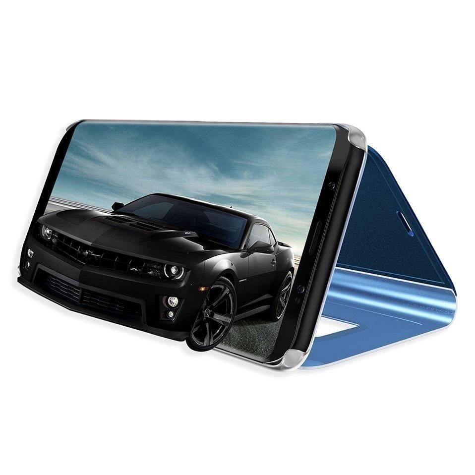 Knížkové pouzdro Huawei Y5 2019 / Honor 8S black s průhlednou přední stranou