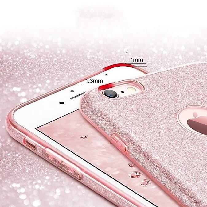 Wozinsky Glitter Shining silikonové pouzdro Samsung Galaxy A40 silver