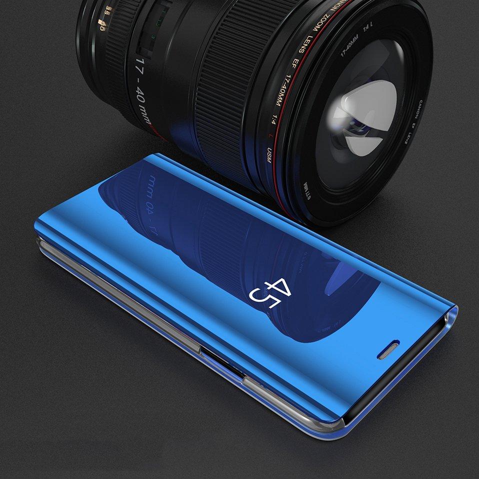 Knížkové pouzdro pro Samsung Galaxy S9 G960 golden s průhlednou přední stranou
