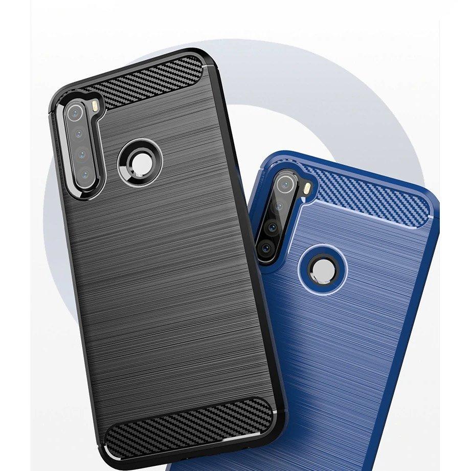 Carbon silikonové pouzdro na Xiaomi Redmi Note 8T black