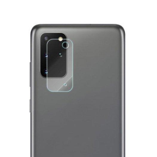 Temperované tvrzené sklo 9H na fotoaparát pro Samsung Galaxy S20 Plus