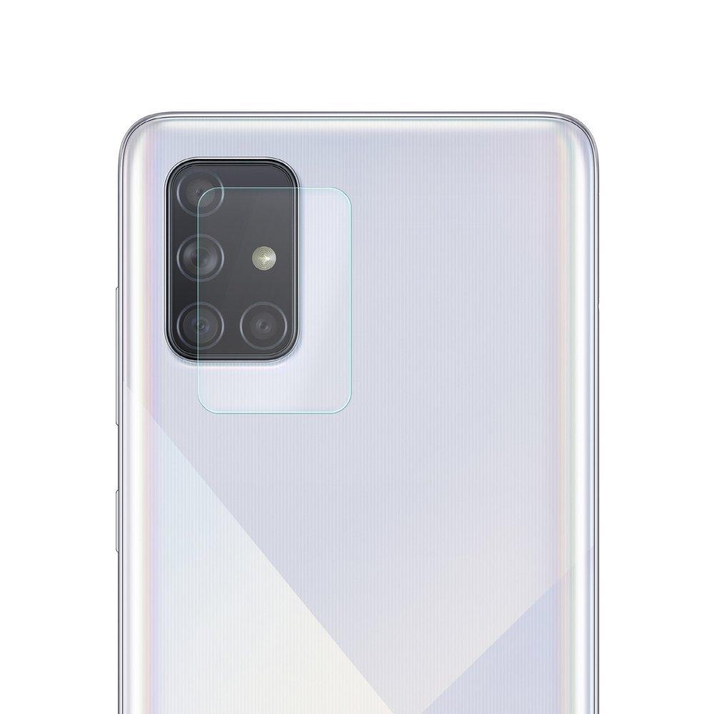 Temperované tvrzené sklo 9H na fotoaparát pro Samsung Galaxy A71