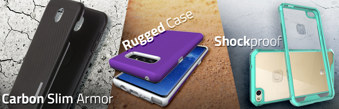 Carbon Shockproof i Rugged