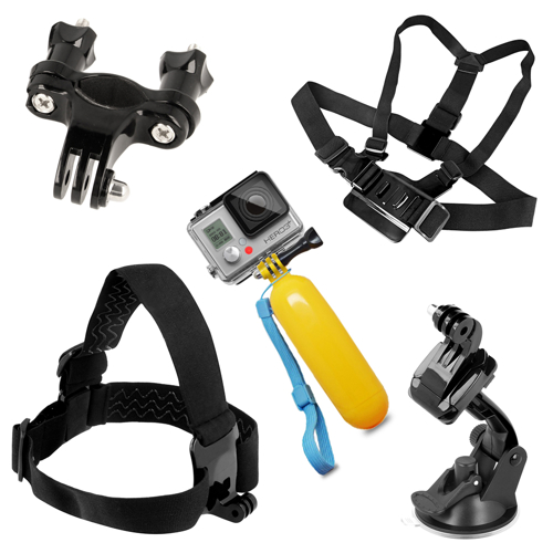 9 in 1 Accessories Set for GoPro HERO 4 3 3+ 2 1